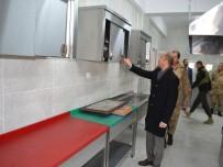 KARAKOL KOMUTANI - Sason Acar Karakolu'na Modern Hizmet Binası Yapıldı