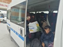 KAÇAK GÖÇMEN - Çanakkale'de 87 Kaçak Göçmen Yakalandı