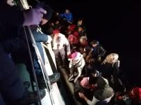 KAÇAK GÖÇMEN - Didim'de 92 Düzensiz Göçmen Yakalandı