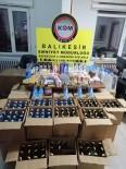Gönen'de Sahte İçki Ve Kaçak Sigara Operasyonu