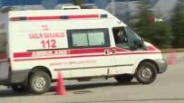 AMBULANS ŞOFÖRÜ - Ambulans Şoförleri Hünerlerini Yarış Pistinde Gösterdi