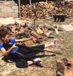 Av Tüfeğiyle Ateş Etti, Ortaya Komik Bir Görüntü Çıktı