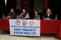 SEÇME VE SEÇİLME HAKKI - Denizli Kadın Meclisi Gençlere Başarının Sırrını Anlattı