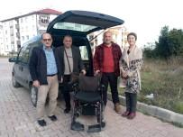 Engelli Vatandaşa Akülü Sandalye Hediye Edildi
