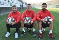 HEKIMOĞLU - Hekimoğlu Trabzon FK'nın Kaptanları Tek Yumruk