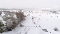 CAMİİ - Kar Direkleri Devirdi, Köy Ve Mezralar Elektriksiz Kaldı