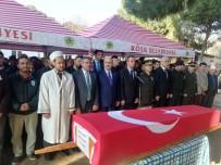 ASKERİ TÖREN - Kıbrıs Gazisi Halil Demirci Son Yolculuğuna Uğurlandı