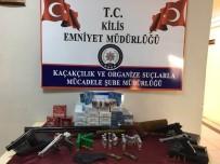 KAÇAK SİLAH - Kilis'te Kaçakçılık Operasyonu