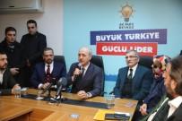 ABDİ İPEKÇİ - AK Parti Genel Başkanvekili Kurtulmuş Açıklaması 'Seçim Masa Başında Değil Sahada Kazanılır'