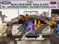 Balıkesir'de Hırsızlık Operasyonu 17 Kişi Yakalandı