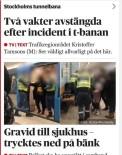HAMİLE KADIN - İsveç'te Güvenlik Görevlilerinden Hamile Kadına Orantısız Güç