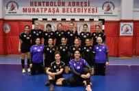 ELEME MAÇLARI - Muratpaşa Belediyespor Samsun Gençlik 2'Nci Yarıya Başlayacak