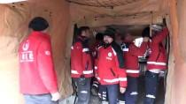 SAHRA HASTANESİ - Suriye Sınırına Sahra Hastanesi