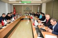 AHMET ÖZDEMIR - Başkan Pekyatırmacı Adamlarıyla Bir Araya Geldi