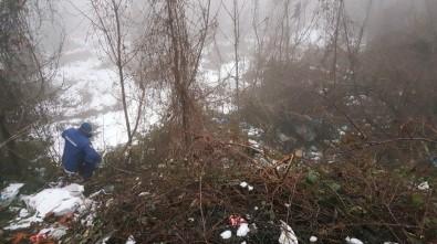 Bolu Dağı kenarında valiz içinde ceset bulundu