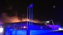GÜNCELLEME 2 - Adana'da Fabrikada Yangın