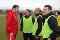 SIVASSPOR - Sivasspor İle İl Protokolü Dostluk Maçı Yaptı