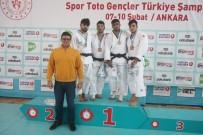 KALENDER - Spor Toto Türkiye Gençler Judo Şampiyonası Sona Erdi