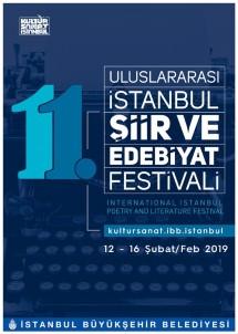 11'İnci Uluslararası İstanbul Şiir Ve Edebiyat Festivali Yarın Başlıyor