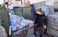 YAĞMURLU - 70 Yaşındaki Yaşlı Kadının 25 Yıllık Çöp Mesaisi