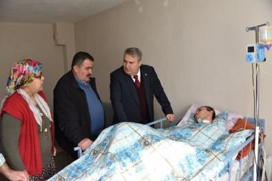 Başkan Çerçi'den Talihsiz Gencin Ailesine Ziyaret
