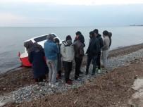 Jandarma 17 Mülteci Yakaladı