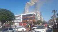 HÜSEYİN ŞAHİN - Mangal Ateşinden Çıkan Yangında 3 İşçi Dumandan Etkilendi