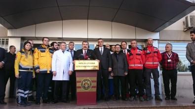 Sağlık Bakanı  Bakanı Fahrettin Koca Açıklaması ' Minik Havva'ın Sağ Bacağına Müdahale Edildi'