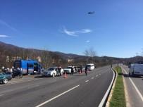 TRAFİK DENETİMİ - Sakarya'da Helikopterli Denetimlerde Sürücülere Ceza Yağdı