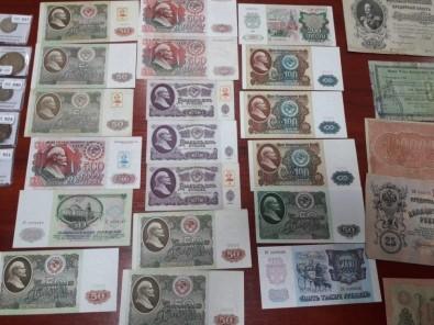 Ukrayna-Polonya Sınırında Bir Şahıs Tarihi Paralarla Yakalandı