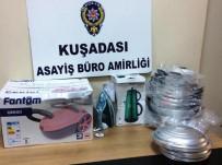 ALÜMİNYUM - Züccaciyeden Çaldıklarıyla Yakalanan Şüpheli Tutuklandı