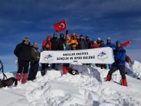 GENÇLİK VE SPOR İL MÜDÜRÜ - 9.Geleneksel Hacılar Erciyes  Kış Tırmanışı Tamamlandı