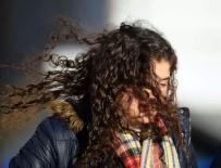 LODOS - Bursa'da Şiddetli Lodos Sokaktaki Vatandaşları Yürütmedi