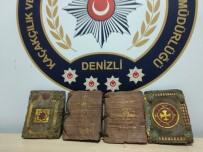 TARİHİ ESER KAÇAKÇILIĞI - Denizli'de Yakalandı Açıklaması Paha Biçilemiyor