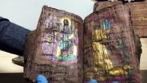 PAMUKKALE ÜNIVERSITESI - Denizli'de Yaklaşık Bin Yıllık Altın Yazmalı Kitaplar Ele Geçirildi
