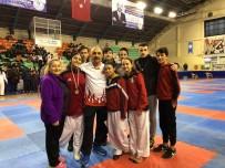 BERKAY ŞAHİN - Düzceli Karatecilerimiz Kürsüden İnmedi