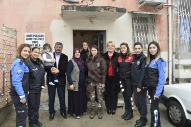 Emniyet Müdürü Aktaş'ın Eşinden Şehit Ailelerine Ziyaret