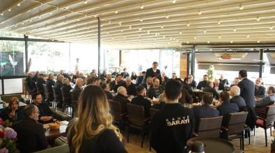 İbrahim Ulusoy, Rizeliler Derneği Ve Rumeli Balkan Dernekleri Federasyonu'nu Ziyaret Etti
