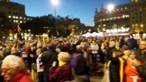 1 EKİM - Katalonya'da Ayrılıkçı Liderler İçin Protesto