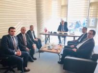 PANCAR EKİCİLERİ KOOPERATİFİ - Şeker Dairesi Başkanından Pancar Şekeri Üreticileri Derneğine Ziyaret