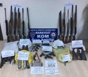 SİLAH KAÇAKÇILIĞI - Antalya'da Silah Kaçakçılarına Operasyon