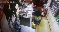 ARBEDE - Bıçaklı, Silahlı Market Soyguncularını Sopayla Etkisiz Hale Getirdi