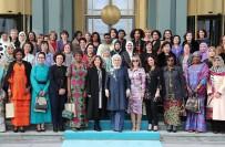 CUMHURBAŞKANLIĞI KÜLLİYESİ - Emine Erdoğan'dan Yabancı Misyon Şefleri Eşlerine Yemek