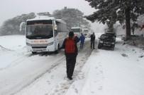 Kazdağları'nda Kar Esareti...