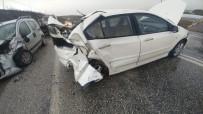 Kepsut'ta Kaza Açıklaması 1 Ölü, 6 Yaralı
