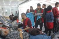 Kozluklu Gençlerden Kan Bağış Kampanyasına Destek