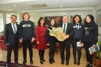 TÜRK DİLİ VE EDEBİYATI - Öğrenciler Müdür Yıldız'la Röportaj Yaptı