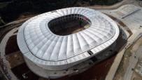 Adana'da Yeni Stadın Çatısı Tamamlandı