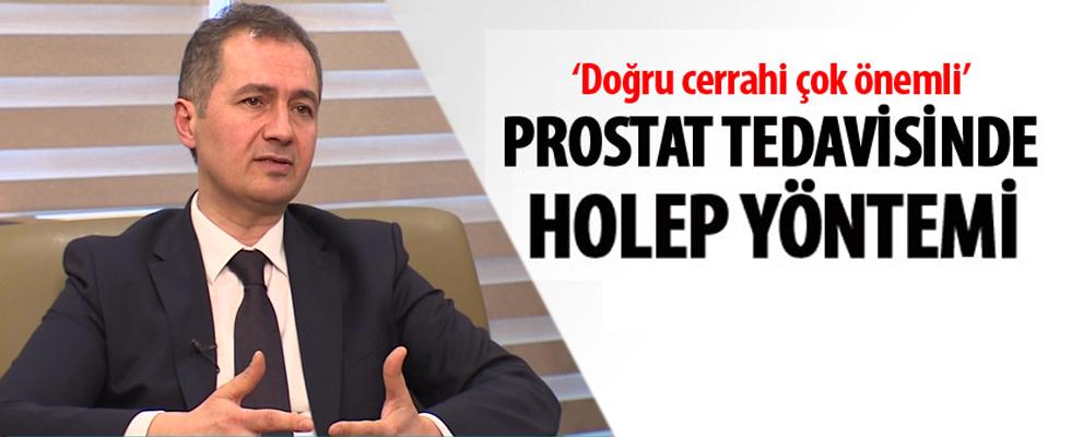 Prostat tedavisinde HoLEP yöntemi