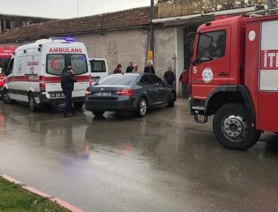 Adana'da restorasyonu yapılan müzenin duvarı çöktü